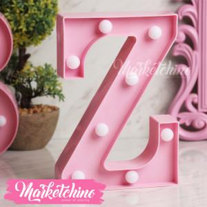Decorative Letter Z-Pink