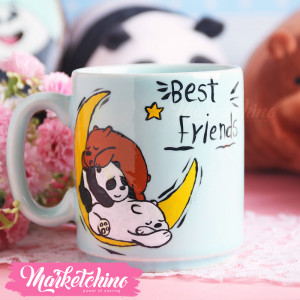 Painted Mug- We Bare Bears-Best Friends