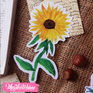 Bookmark-Sun Flower