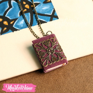 Necklace-Book-Purple