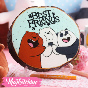 Tableau- We Bare Bears-Best Friends