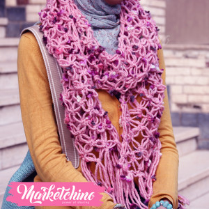 Scarf-Pink