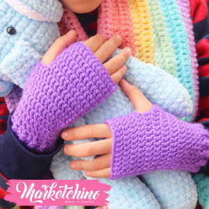 Gloves-For Kids-Purple