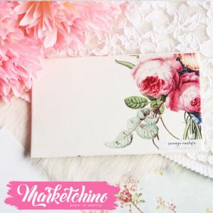 Gift Card Envelope-Pink Flower