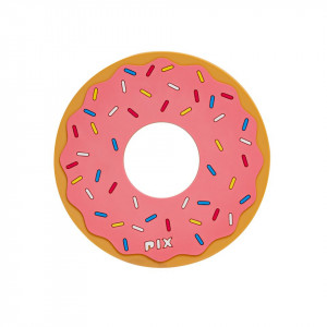 Silicon Coaster-Donuts-Pink