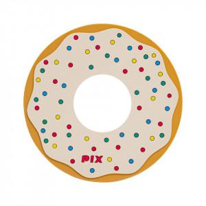 Silicon Coaster-Donuts-White