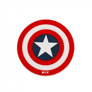 Silicon Coaster-Captain America