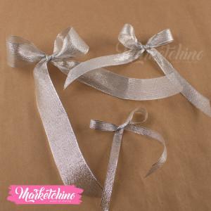 Ribbon-Gift Box-Silver (one piece )