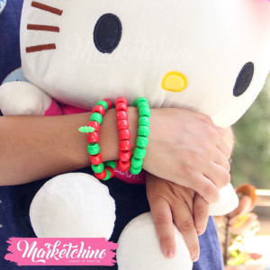 Kids Bracelet-Red&Green