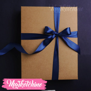Ribbon-Gift Box-Dark Blue