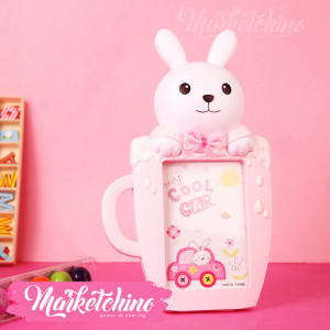 Photo Frame-Bunny-Pink