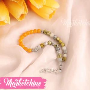 Misbaha-Gray&Yellow