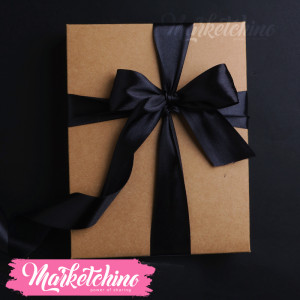 Ribbon-Gift Box-Black