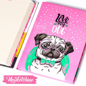 Notebook-Love My Dog
