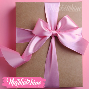 Ribbon-Gift Box-Pink