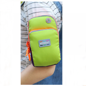 WeekEight Sport Arm Bag for Mobile Phone-Green