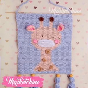 Tableau-Giraffe-Crochet