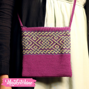 Crochet Bag-Purple