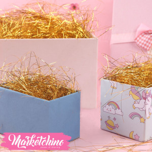 Gift Box-Decoration-Gold