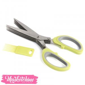 Stainless steel scissors Vegetables-Green