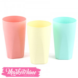 Set OF-Plastic Cup (Set OF  3)