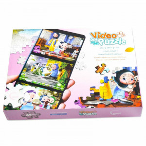 Video Puzzle-Girl (set of  3)