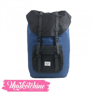 Herschel-BackPack-Dark Blue/Black