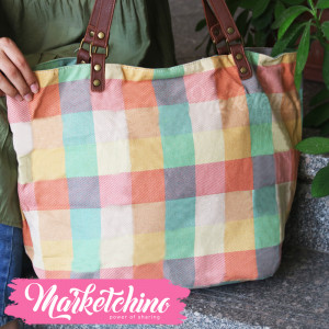Hand Bag-Squarer-Colorful