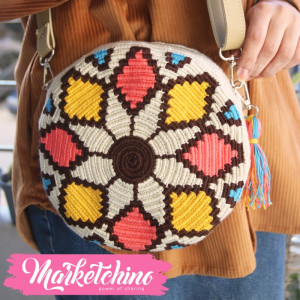Cross Bag Crochet-Colorful