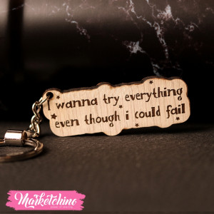 Keychain-I wanna Try