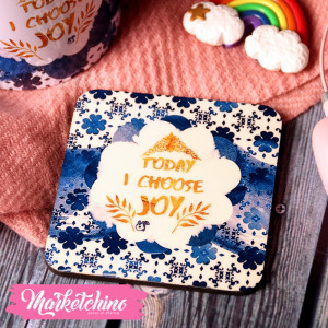 "Coaster""Choose Joy"""