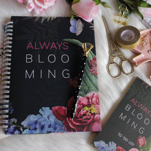Notebook-Always Blooming