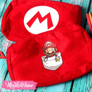 Pencil Case-Super Mario