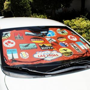 Car SunShade-The World