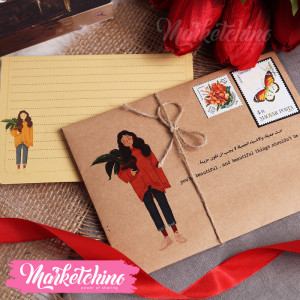 Gift Card Envelope-You're Beautiful