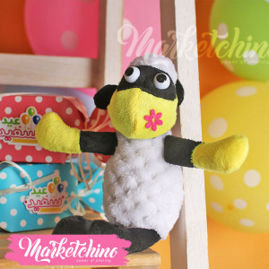 Toy Sheep With Yellow Mask