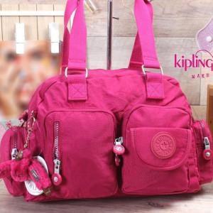 Hand Bag-kipling-Fuchsia