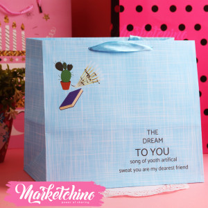 Gift Bag-Light Blue