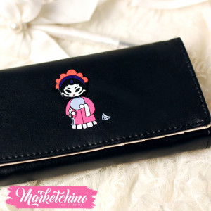 Wallet-Chinese Girl-Black