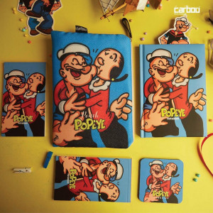 Notebook with cover Popeye