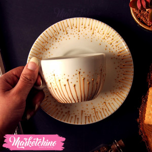 Cup &Plate-Gold