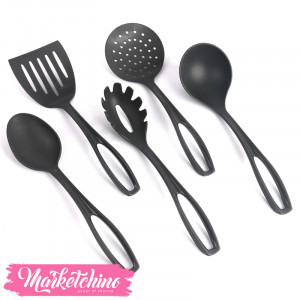 Sanremo Plastic cookware-Black ( set of 5 )