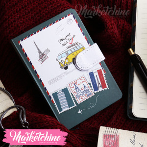Note Book-Yellow Van-Small