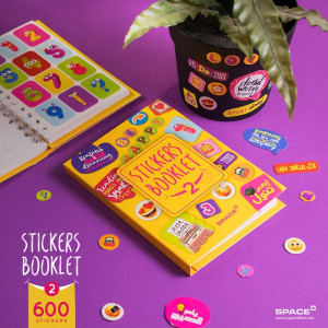 Sticker Booklet-2-Yellow