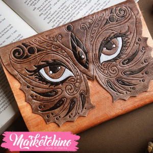 Leather Sketch Book-Eyes MASK