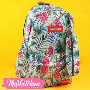 Backpack-Supreme-Purple Flower