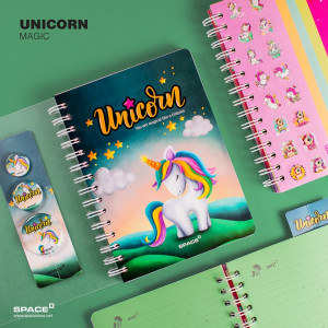 notebook unicorn magic