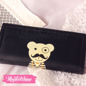 Wallet Puppy-Black