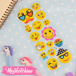 Stickers-Smile Face 2