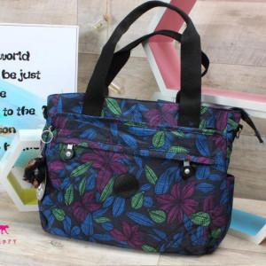 Hand Bag-kipling-Blue&Pink